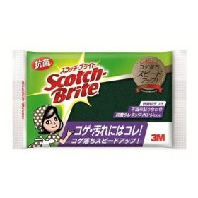 3M スコッチ・ブライト 抗菌 ウレタンスポンジたわし(研磨粒子あり)