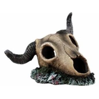 【お取り寄せ】水槽用オブジェ オーナメント 海底に眠る 羊のガイコツ スカル
