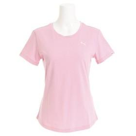 プーマ(PUMA) ワンポイントロゴ 半袖Tシャツ 593205 25 PNK- (Lady's)