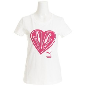 プーマ(PUMA) FTW グラフィック 半袖Tシャツ 850580 03 WHT- (Lady's)