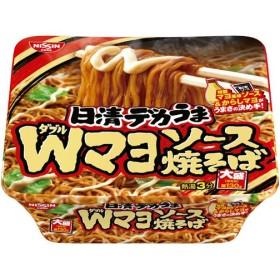 日清食品 日清デカうま Wマヨソース焼そば 1ケース(12食)