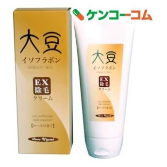 除毛クリーム 大豆イソフラボン配合 薬用EX (ローズの香り) ( 150g )/ 薬用EX除毛クリーム