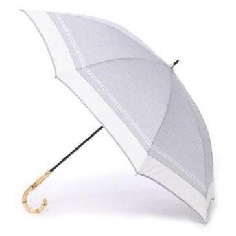 ダブリュピーシー w.p.c 日傘 切り継ぎマリン (グレー)