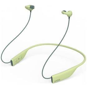ブルートゥース イヤーカフ イヤホン ambie Cactus Green AMBT01GC [リモコン・マイク対応 /ワイヤレス(ネックバンド) /Bluetooth]
