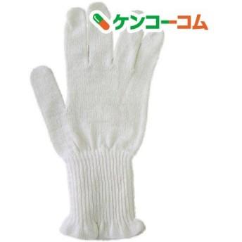 野蚕シルク 手首W絹手袋 フリーサイズ ( 1双 )