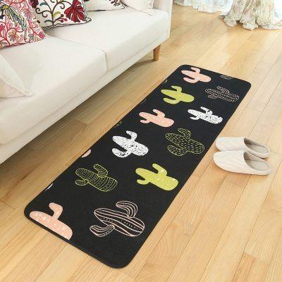 時尚創意地墊211 廚房浴室衛生間臥室床邊門廳 吸水長條防滑地毯(45*120cm 1件裝)