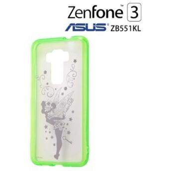 ☆ ディズニー ASUS ZenFone3 ZE520KL/楽天モバイル 専用 ケース ティンカー・ベル RT-DAZ3U/TB[メール便送料無料]