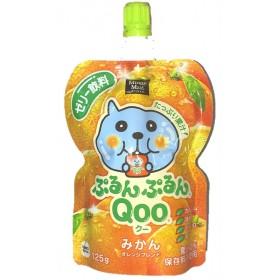 ミニッツメイド QOO ぷるんぷるんQOO みかん 125g