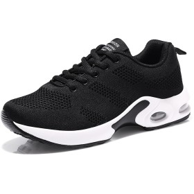 スニーカー レディース カジュアルシューズ スポーツシューズ ランニング ジョギング 運動靴 軽量 通気 レッド ピンク 黒 白