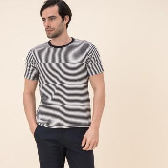 AIGLE メンズ メンズ 吸水速乾 リバース Tシャツ ZTH013J DARK NAVY (075) Tシャツ