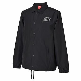 (セール)New Balance(ニューバランス)メンズスポーツウェア ジャケット クラシックコーチジャケット AMJ81590BK メンズ ブラック