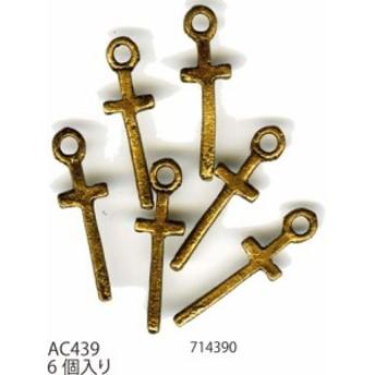 【パーツ】メルヘンアート AC439アンティークゴールドピューター 3袋【パーツ】【取寄商品】