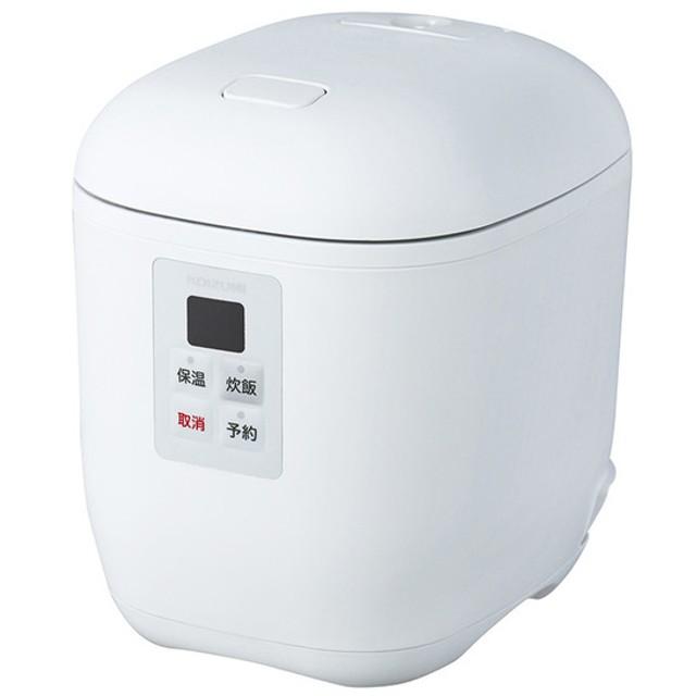 コイズミ マイコン炊飯器 ライスクッカー ミニ KSC1512W