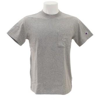 チャンピオン-ヘリテイジ(CHAMPION-HERITAGE) 【オンライン特価】【ゼビオグループ限定】 胸ポケット付き 半袖Tシャツ C C8-M389 070 (Men's)