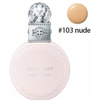 【1点までメール便選択可】 ジルスチュアート・ルースインリキッド SPF20 #103 nude (リキッドルースファンデーション)
