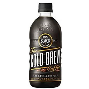 UCC BLACK COLD BREW(コールドブリュー) 500mlペットボトル 24本入 (無糖 ブラックコーヒー)