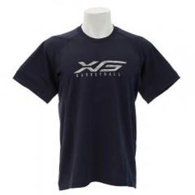 エックスティーエス(XTS) DPWバスケグラフィックTシャツ 751G8ES3537 NVY(Men's)