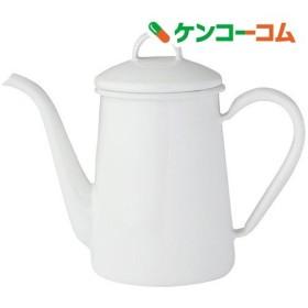 富士ホーロー slow ドリップポット 9cm ホワイト ( 1コ入 )