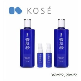 KOSE/コーセー 雪肌精 化粧水 デュオ 360mlX2 セット (IBFC)【医薬部外品】(4971710477177)
