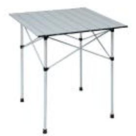 (セール)Alpine DESIGN(アルパインデザイン)キャンプ用品 ファミリーテーブル 2WAY アルミロールテーブル 70X70 AD-S18-402-021