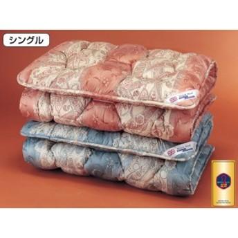 英国羊毛 敷布団 英国羊毛公社認定 ステッキマーク ゴールドラベル 防臭 抗菌 SEK 中央増量 8cm厚 敷き布団 シングル
