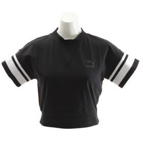 プーマ(PUMA) チッピング Tシャツ 576204 01 BLK (Lady's)