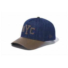 ニューエラ(NEW ERA) 9FORTY A-Frame デニム NYC 11557373 (Men's)