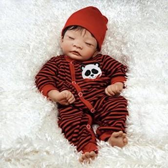 パラダイスギャラリーズParadise Galleries Lifelike Asian Reborn Baby Doll Panda Twin Boy, 17 inch Ne