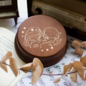 [誕生日プレゼント、メモリアルギフト、クリスマスギフト] 12 Horoscope Aquariusオルゴール