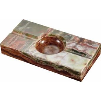灰皿Visol Products VASH807B Garnet Onyx Stone Rectangle Cigar Ashtray