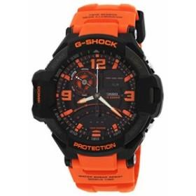 【当店1年保証】カシオCasio G-Shock GA-1000 Gravity Defier - Black Orange (GA-1000-4ADR)