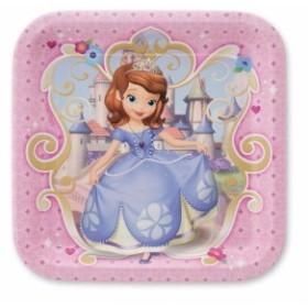 ちいさなプリンセス ソフィアSmileMakers Sofia The First Lunch Plates - Birthday & Theme Party Supp