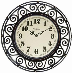 Westclox 36001A Wall Clock Stanless Black 1