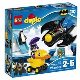 レゴLEGO DUPLO DC Comics Super Heroes Batman Batwing Adventure 10823, Preschool, Pre-Kindergarten, Large Bui