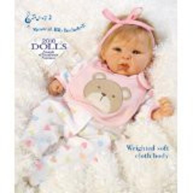 """パラダイスギャラリーズParadise Galleries """"Happy Teddy Girl Reborn Baby Doll. 19"""" Great 1st Baby Dol"""