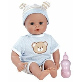 """923bf57635211d アドラベビードールAdora PlayTime Baby Beary Blue Vinyl 13"""" Boy Weighted Washable  Cuddly Snuggle"""