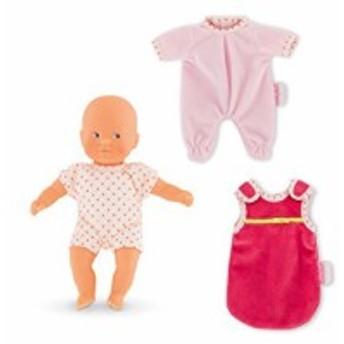 コロールCorolle Good Night My Mini Calin Baby Doll, Pink