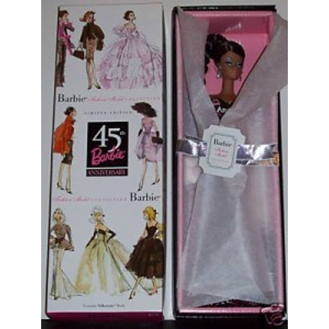 バービーRobert Best 45th Anniversary Barbie Doll African American (2004)
