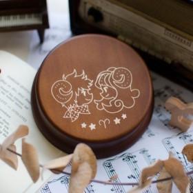 [誕生日プレゼント、メモリアルギフト、クリスマスプレゼント] 12 Horoscope Ariesオルゴール