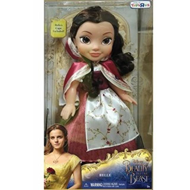 美女と野獣Disney Beauty and The Beast Belle Red Dress 14-Inch Doll with Cape