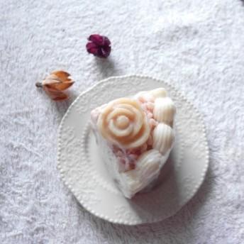 レインボーフォレストローズケーキ手作り石鹸誕生日ギフト結婚式小物ギフト母の日ギフトバレンタインギフトムーンギフトクリスマスギフト