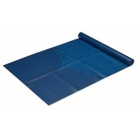 ヨガマットGaiam Foldable Yoga Mat, Blue Sundial, 2mm