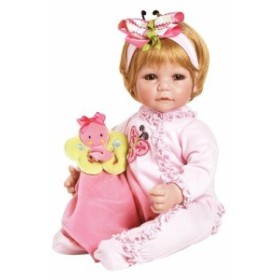 """579d8b80329101 アドラベビードールAdora Toddler Butterfly Romper 20"""" Girl Weighted Doll Gift Set for  Children"""