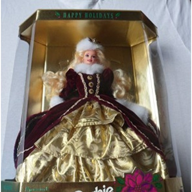 バービーMattel Happy Holidays Barbie Christmas 1996