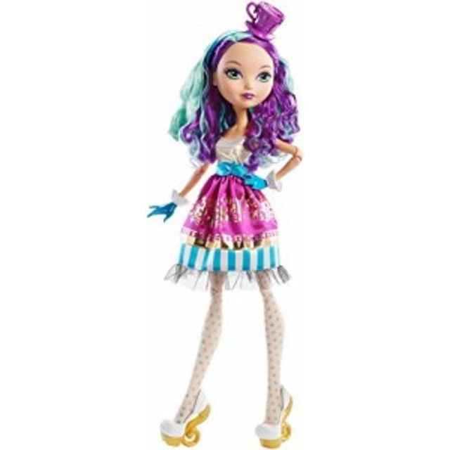 "エバーアフターハイEver After High Way Too Wonderland Madeline Hatter 17"" Doll"