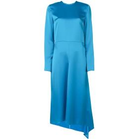 MSGM アシンメトリードレス - ブルー