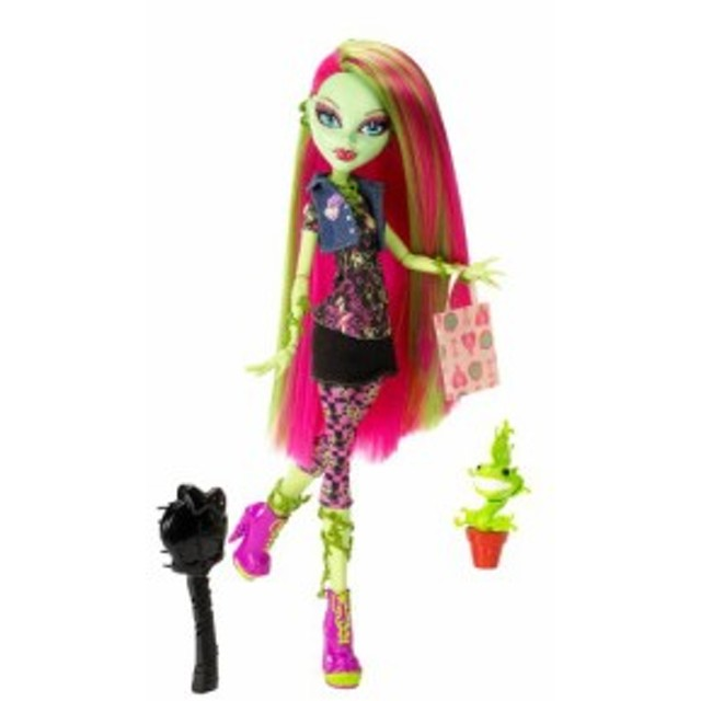 モンスターハイMonster High Doll Venus McFlytrap Daughter of the Plant Monster