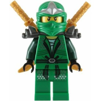 レゴLloyd ZX (Green Ninja) with Dual Gold Swords - LEGO Ninjago