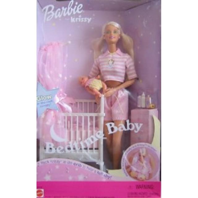 バービーBarbie and Krissy Bedtime Baby with Musical Crib