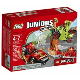 レゴLEGO Juniors Snake Showdown 10722 Toy for 4-7-Year-Olds